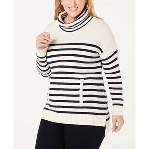 NWOT Charter Club Plus Size Cowl Neck Sweater